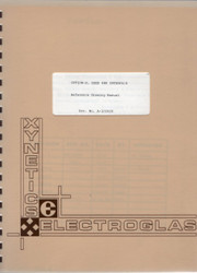 Option-D, IEEE 488 Interface, Ref. Drawing Manual | Xynetics Electroglas