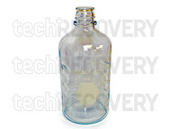 Kimax-35 Glass 1000mL Graduated Media Bottle (Lot of 16)