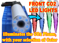 led co2 cannon party gun for nightclub