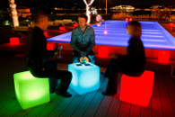 Led cubes, led furniture, lounge, rave, nightclub, backyard,led, bars,