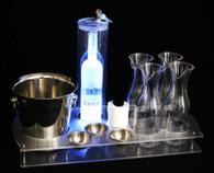 serving tray, vip serving tray, vip service, bottle service, vip guest, custom, ice buckets, garnish bowls, carafes, bottle service serving tray, vip bottle service, serving, bottle