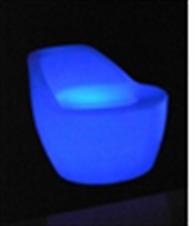 led chair, led furniture, led decoration, patio furniture, led , glow in  a dark decoration, led stool