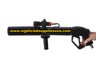 uv flash light co2 party cannon gun, cyro gun, special effects gun, equipment