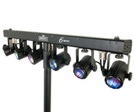 6SPOT LIGHTING SYSTEM for nightclubs & bars