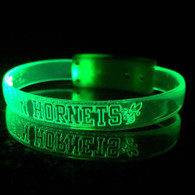 LASER ENGRAVED WRISTBANDS with LOGO