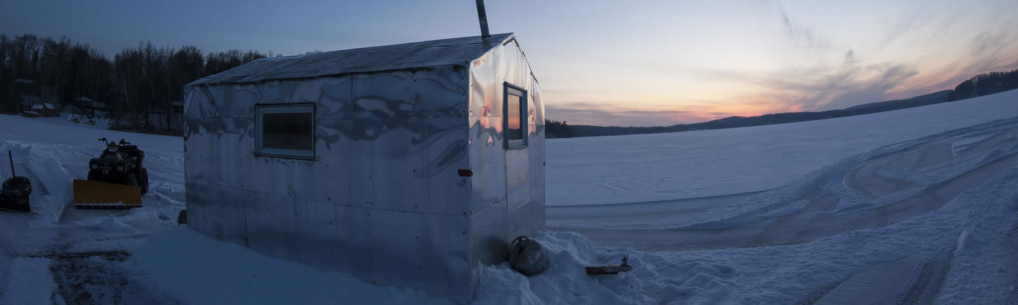 Ice fishing ice house accessories catch cover for Ice fish house accessories