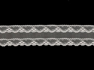 "White Edge Lace Trim - 2.125"" (WT0218E03)"