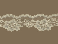 """Ivory/Beige Scalloped Lace Trim - 2.75"""" (IV0234S01)"""