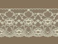 Ivory Edge Lace Trim - 4'' (IV0400E02)