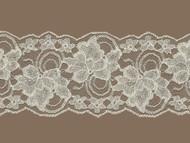 "Ivory Galloon Lace Trim - Stiff - 4"" (IV0400G03)"