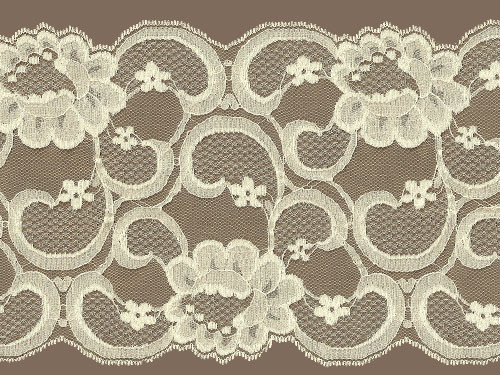 ivory galloon lace trim w sheen iv0714g01. Black Bedroom Furniture Sets. Home Design Ideas