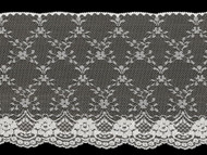 White Edge Lace Trim - 7'' (WT0700E02)