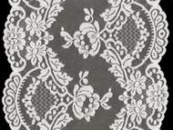 White Galloon Lace Trim - 10.5'' (WT1050G01)