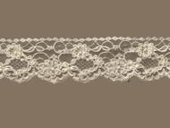 """Ivory Edge Lace Beaded Trim - 2.5"""" (IV0212U01)"""