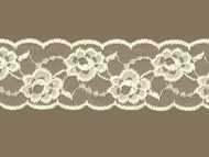 "Ivory Galloon Lace Trim - 3.00"" (IV0300G01)"