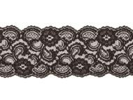 "Black Galloon Lace Trim - 4""- (BK0400G05)"