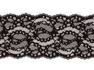 "Black Galloon Lace Trim - 4.875""- (BK0478G03)"