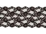 "Black Galloon Lace Trim - 4.875"" - (BK0478G02)"