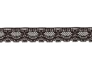 """Black Edge Lace Trim - 1.5"""" - (BK0112E03)"""