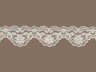 "Ivory Scalloped Lace Trim - 2"" - (IV0200S02)"