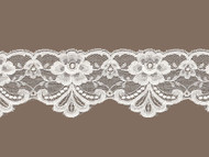 "Ivory Scalloped Lace Trim - 2.75"" -(IV0234S02)"