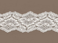 "Ivory Galloon Lace  Trim - 3.25""- (IV0314G01)"