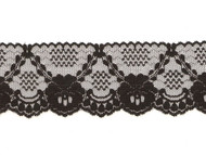 "Black Edge Lace - 2.5"" (BK0212E07)"