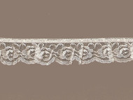 "Ivory Edge Lace Ruffled - 1.25"" (IV0114U02)"