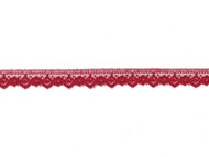 "Dark Red Edge Lace - .5"" (RD0012E05)"