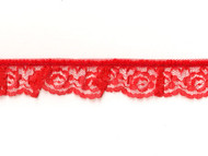 "Red Edge Ruffled Lace - 1.25"" (RD0114U01)"