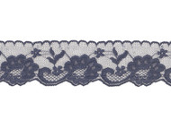 "Navy Blue Lace with Sheen - 2.50"" -(NB0212E01)"