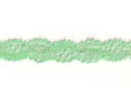 "Dark Mint Stretch Galloon Lace - 1.25"" - (MT0114G01)"