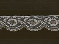 "White Gold Edge Lace - 2"" - (WG0200E02)"