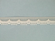"Lt Beige Edge Lace Trim - 0.375"" (BG0038E04)"