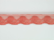 "Burnt Sienna Edge Lace Trim - 0.75"" (SN0034E02)"