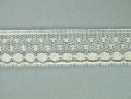 "Ivory Edge Lace Trim - 0.75"" (IV0034E01)"