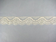 "Beige Edge Lace Trim - 1.5"" (BG0112E01)"