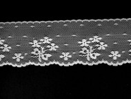 "White Edge Lace Trim - 2"" (WT0200E02)"