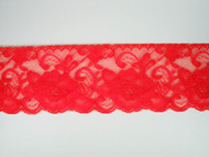 "Bright Fuchsia Edge Lace Trim - 2.75"" (FS0234E01)"