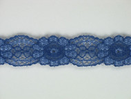 "Blue Galloon Lace Trim w/ Sheen - 0.625"" (MB0058G01)"
