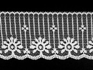"White Edge Lace Trim - 2.125"" (WT0218E01)"