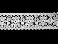 "White Insertion Lace Trim - 1.5"" (WT0112U02)"