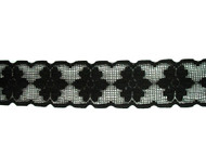 "Black Galloon Lace Trim - 2.5"" (BK0212G01)"