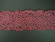 "Dusty Rose Galloon Lace Trim - 3.25"" (DR0314G01)"