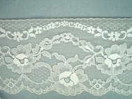 "Ivory Edge Lace Trim - 4.625"" (IV0458E01)"