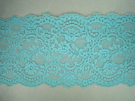 "Lt Turquoise Galloon Lace Trim - 5.625"" (TQ0558G01)"