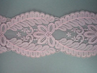 "Lt Pink Galloon Lace Trim - 5"" (PK0500G01)"