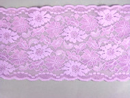 "Lilac Galloon Stretch Lace Trim - 5.5"" (LC0512G01)"