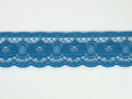 "Azure Blue Edge Lace Trim - 0.625"" (364 yards) (AZ0058E01W)"