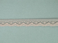 "Beige Edge Lace Trim - 0.375"" (525 yards) (BG0038E05W)"